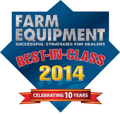 Farm Equipment Best In Class 2014