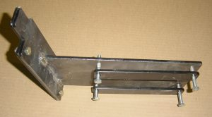 Left Front Seal Mount with Clamp Straps