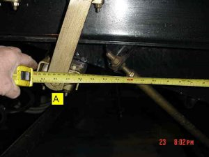 Lower Shoe Travel Measurement