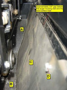 RIght Seals and Surface Correctly Installed
